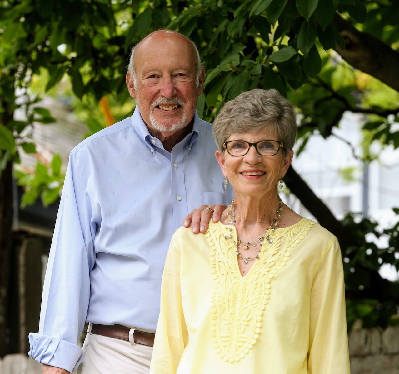 Mary Ann and Richard Shaw 2018 Ageless Remarkable St. Louisan