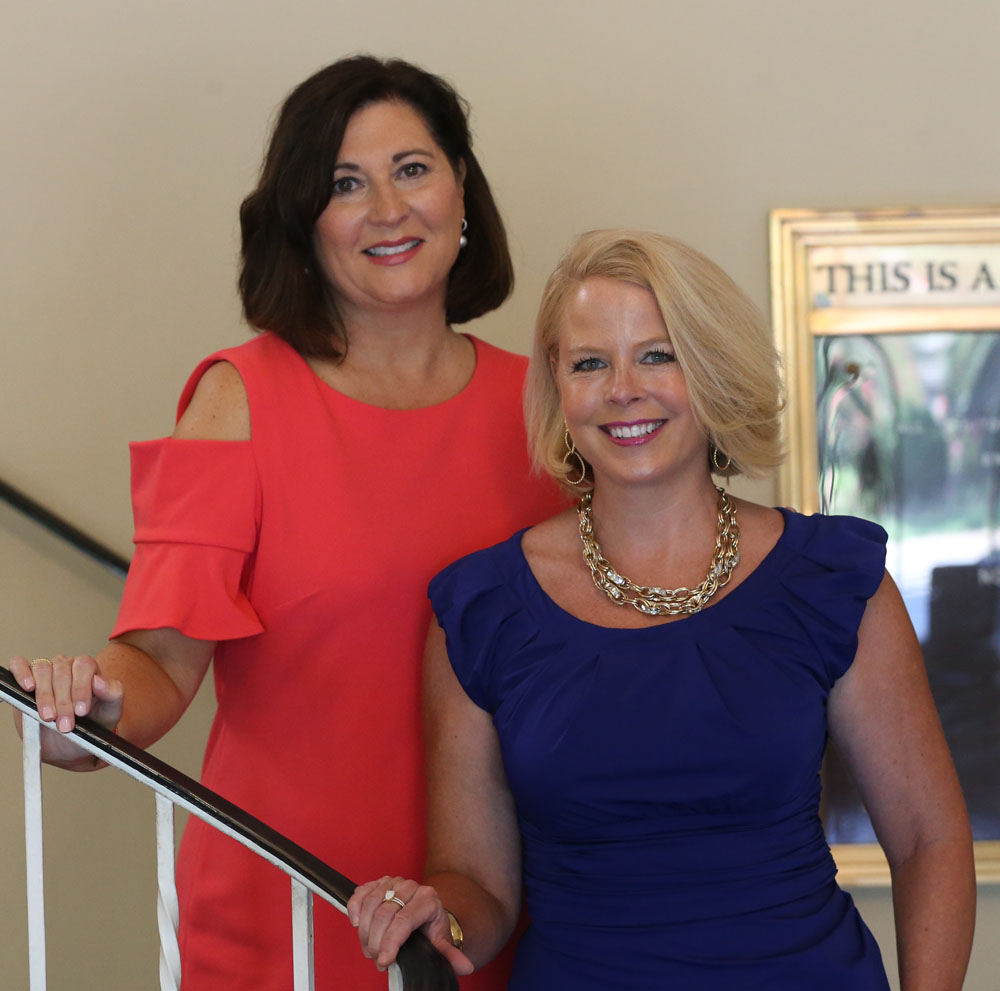Karen Shaughnessy and Laura McBride, St. Andrew's Charitable Foundation Co-Chairs